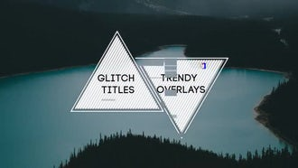 Se7en Glitch Titles: After Effects Templates
