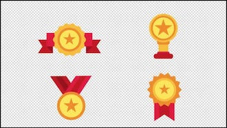 Award Animated Icons: Motion Graphics