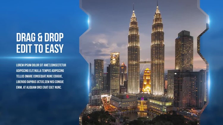 Corporate Presentation Slideshow: After Effects Templates