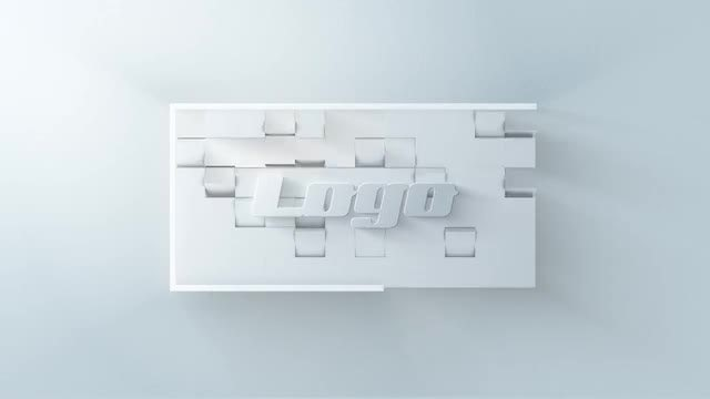 White Logo V_01: After Effects Templates