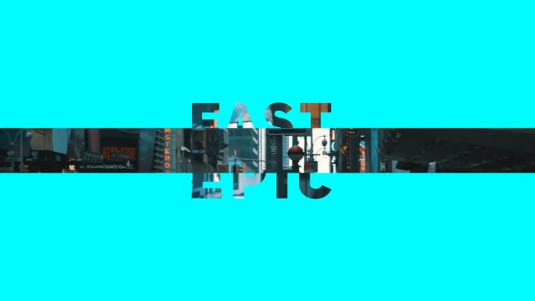 Fast Epic Promo: After Effects Templates