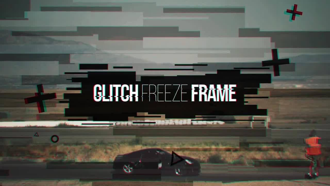 Glitch Freeze Frame - Premiere Pro Templates | Motion Array