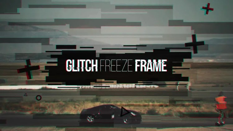 Glitch Freeze Frame: Premiere Pro Templates