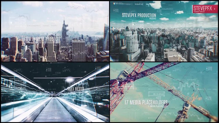 Through The Logo Slideshow.: After Effects Templates