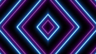 VJ Neon Lights Background: Motion Graphics