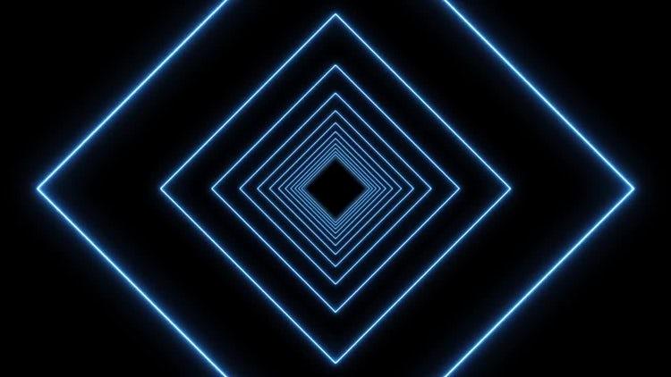 VJ Neon Lights Background: Motion Graphics