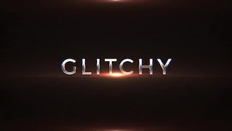 Digital Glitch Trailer: After Effects Templates