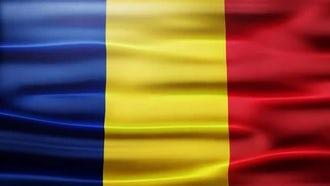 Romania Flag: Motion Graphics
