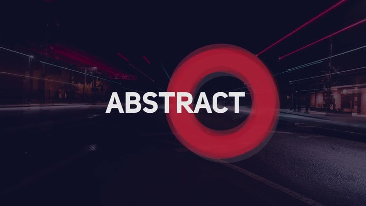 Abstract Titles 2: Premiere Pro Templates
