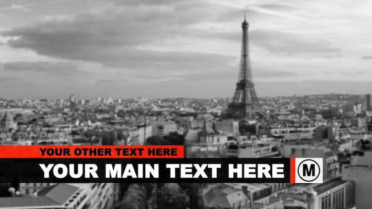 Elegant & Clean Lower Thirds: After Effects Templates