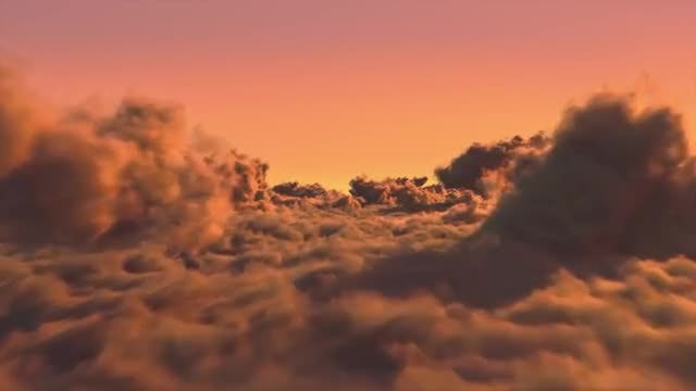 Sunset Clouds: Stock Motion Graphics