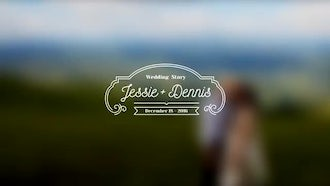 Wedding Titles Vol 1: After Effects Templates