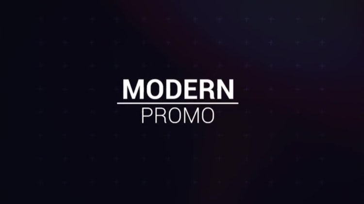 Modern Promo: After Effects Templates