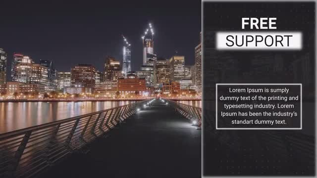 Night Slideshow : After Effects Templates