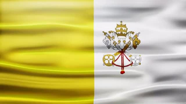 Vatican Flag: Stock Motion Graphics