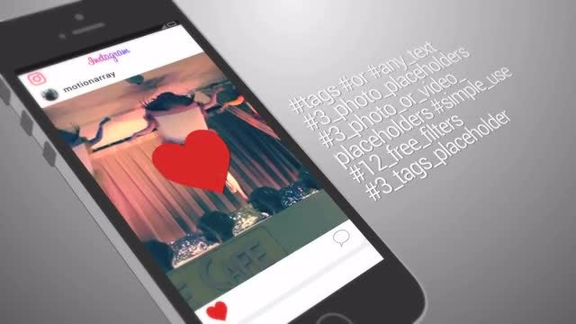 Instagram Profile Promo: After Effects Templates