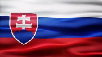 Slovakia Flag: Motion Graphics