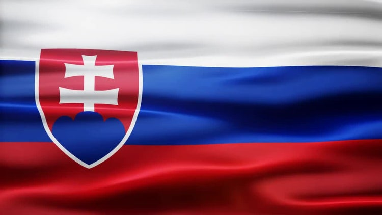 Slovakia Flag: Motion Graphics