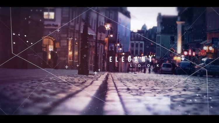 Epic Parallax Slideshow Opener: After Effects Templates