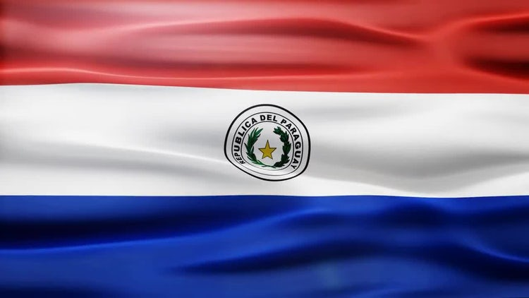 Paraguay Flag: Stock Motion Graphics