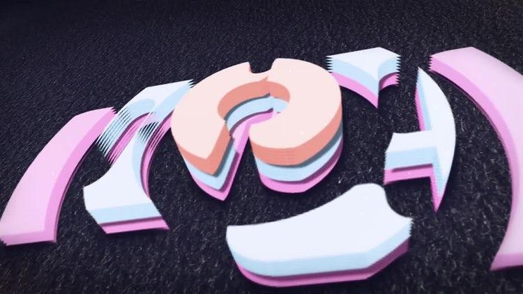 3D Fluid Logo: After Effects Templates