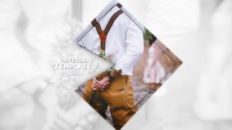 Stylish Wedding Opener: After Effects Templates