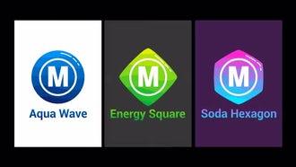 Minimal Logo AquaWave: After Effects Templates