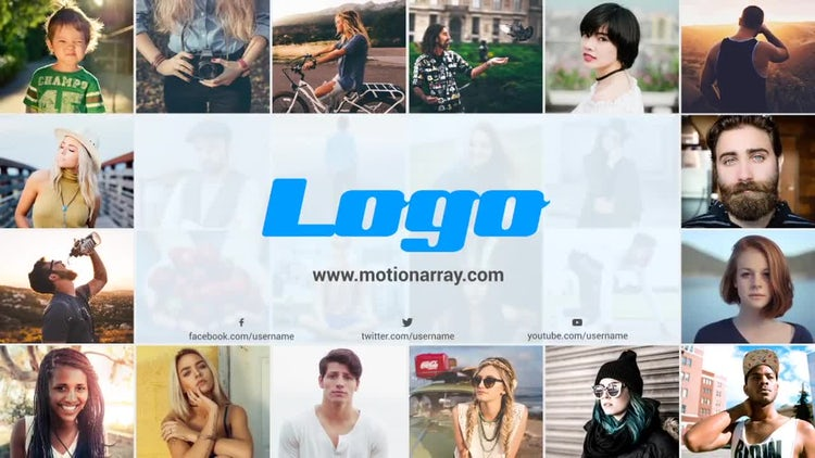 Multi Image Logo Opener: After Effects Templates