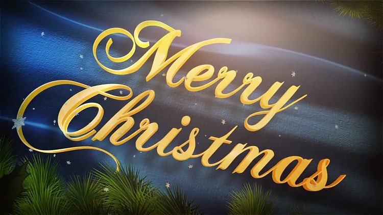 Christmas Greetings: After Effects Templates