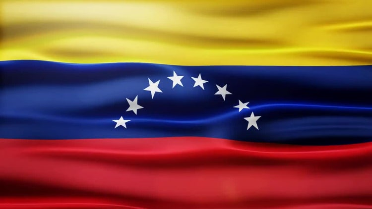 Venezuela Flag: Motion Graphics