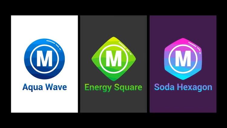 Minimal Logo _ AquaWave: Premiere Pro Templates