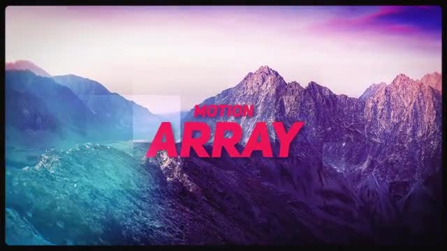 Summer dynamic slideshow: After Effects Templates