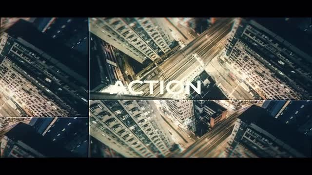 Action Claps Opener: After Effects Templates
