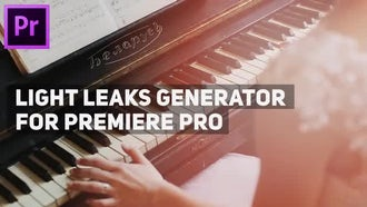 Light Leaks Generator: Motion Graphics Templates