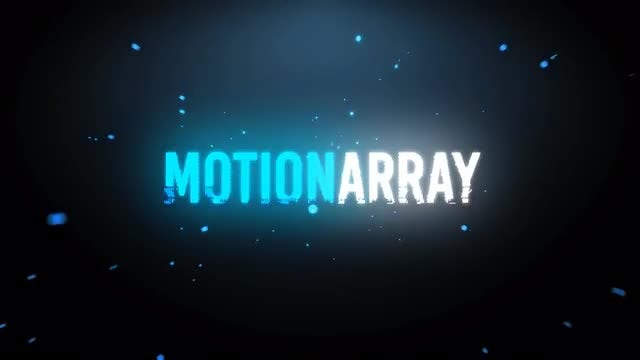 Particles Logo Intro: After Effects Templates