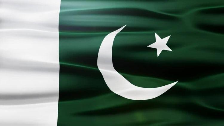 Pakistan Flag: Stock Motion Graphics