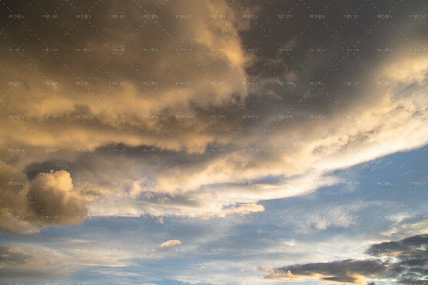Colorful Clouds: Stock Photos