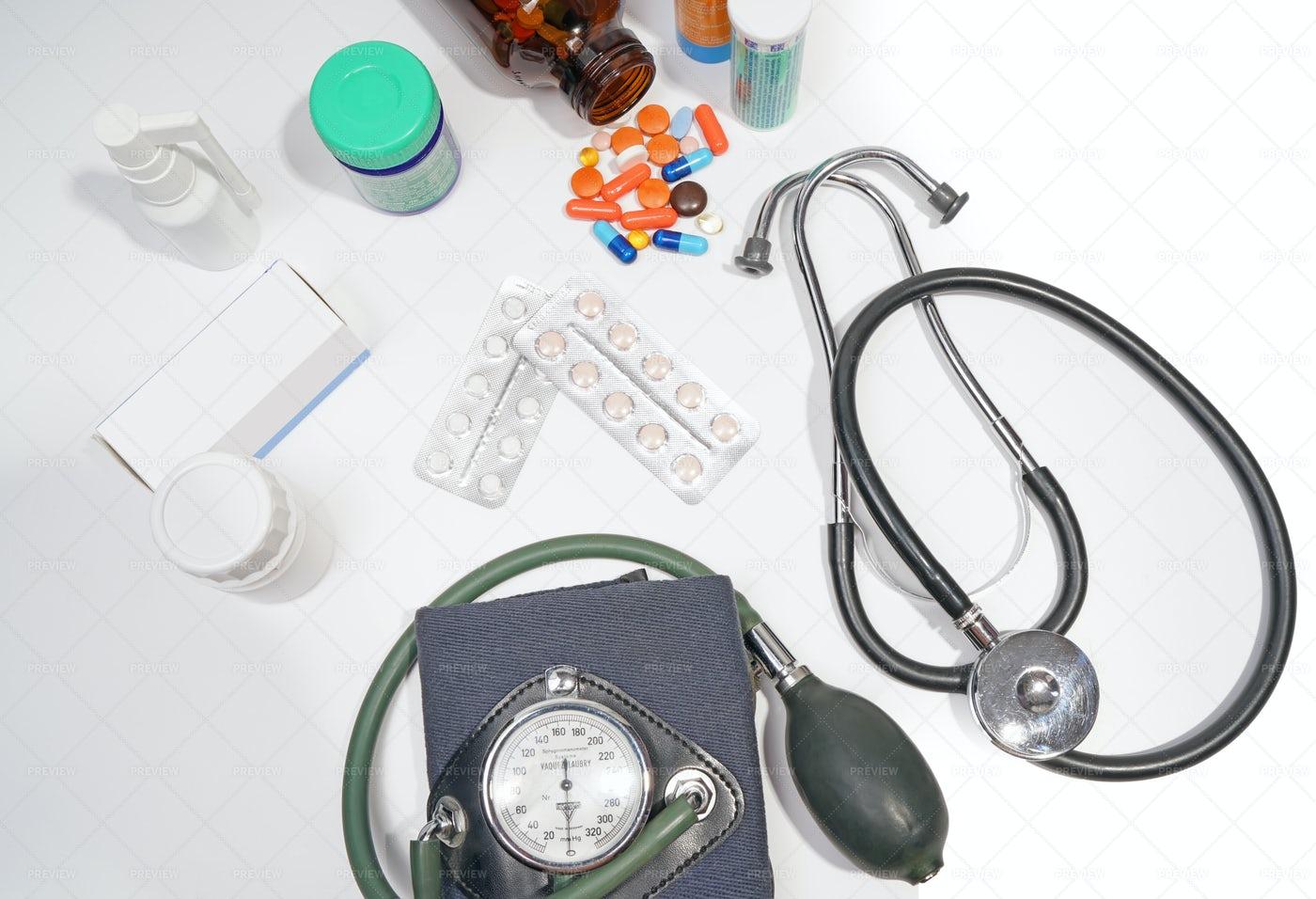 Medical Supplies: Stock Photos