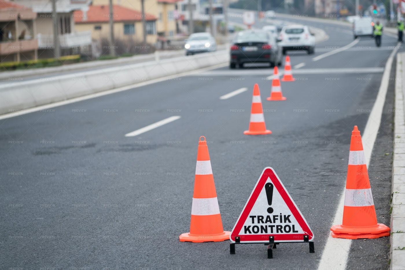 Traffic Control Cones: Stock Photos