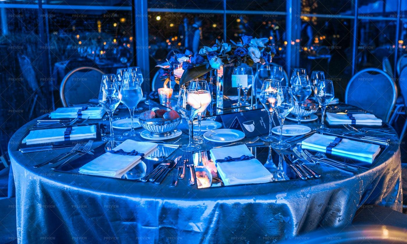Dinner At The Wedding: Stock Photos