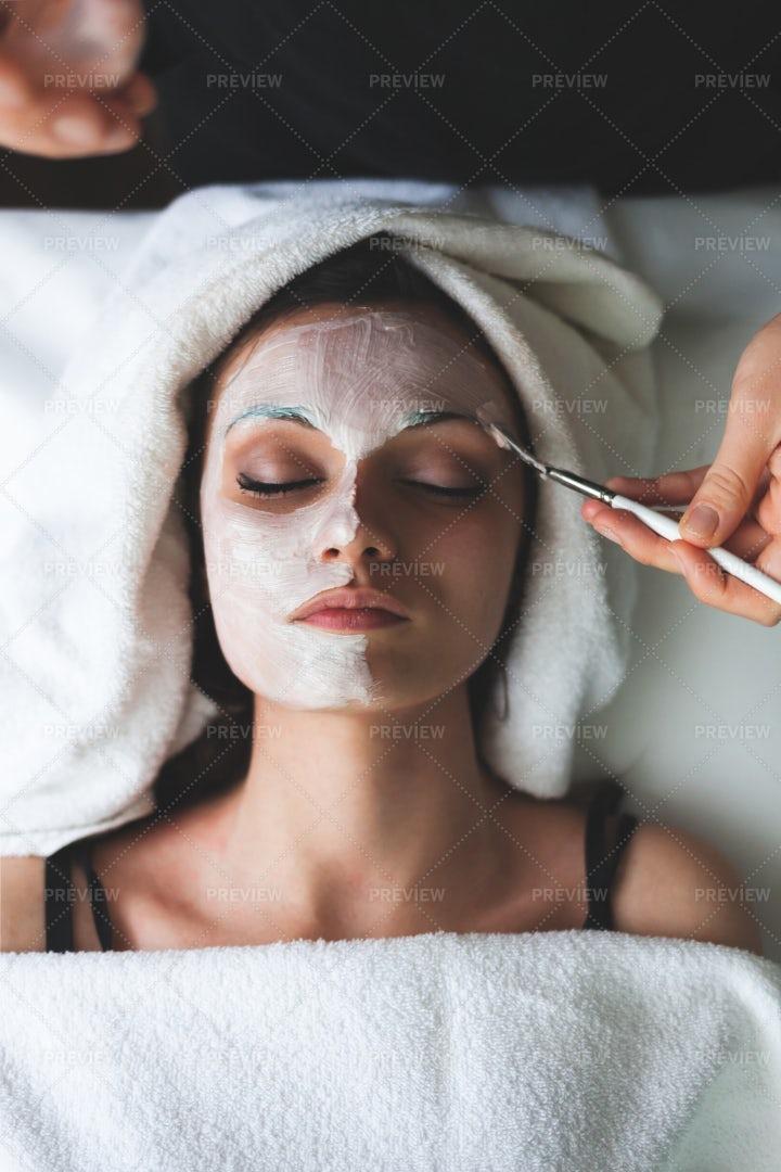 Facial Mask: Stock Photos