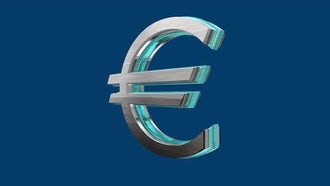 Rotating Euro: Motion Graphics