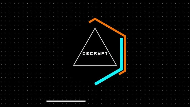 Hacker Glitch Logo Reveal: After Effects Templates