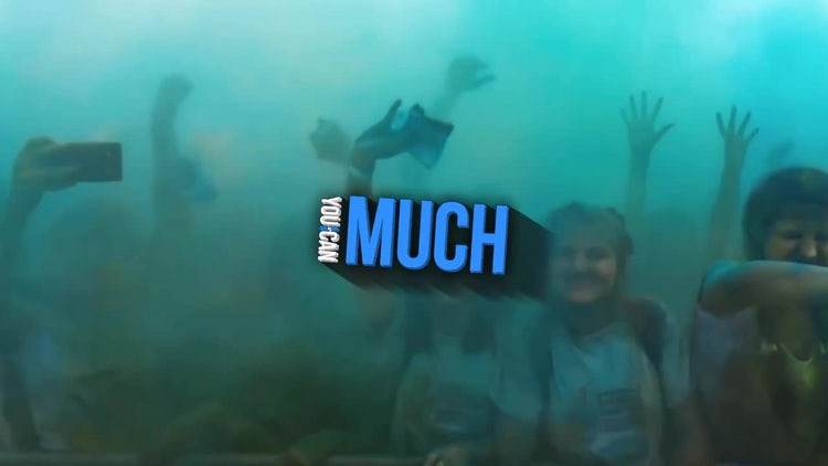 Motion Typography: After Effects Templates