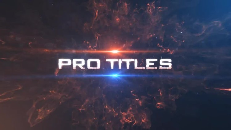 Pro Titles 01: After Effects Templates