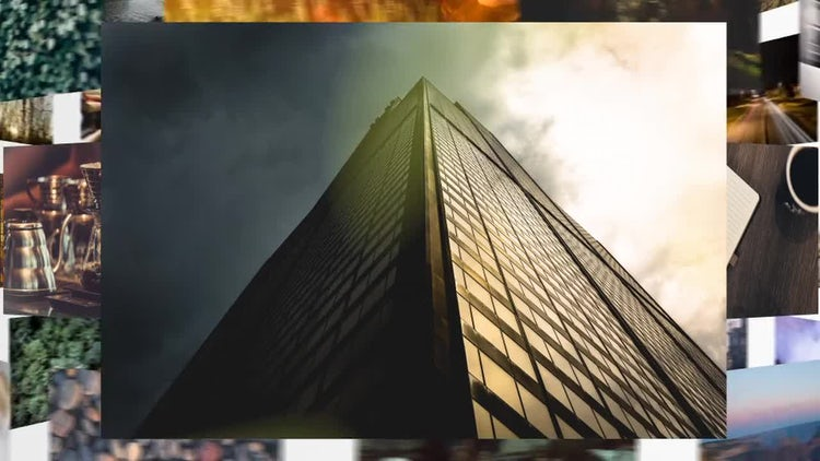 Rotating Slideshow: After Effects Templates