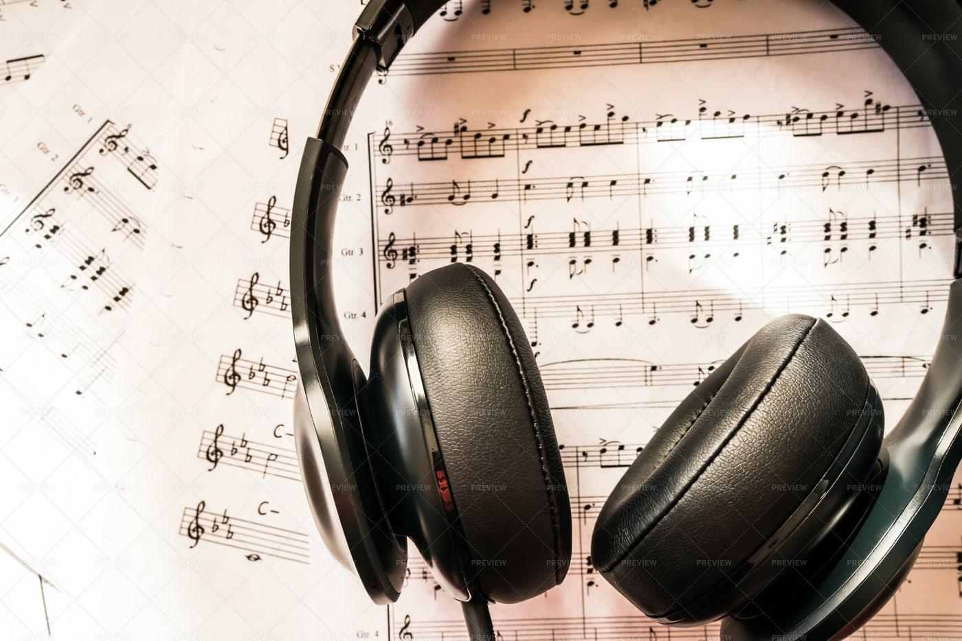 Music Studying: Stock Photos