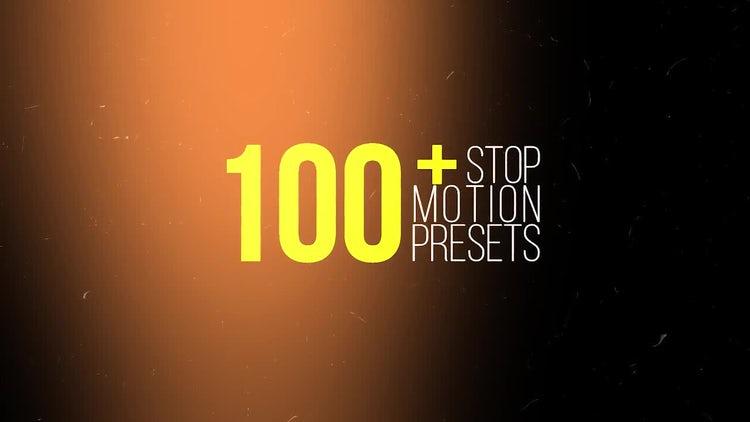 Stop Motion Presets: Premiere Pro Presets