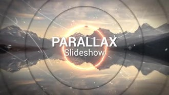 Saber Parallax Slideshow: After Effects Templates