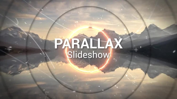 Saber Parallax Slideshow: After Effects Templates